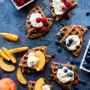 The Best Blender Buckwheat Waffles & Organic Valley Discovery Day