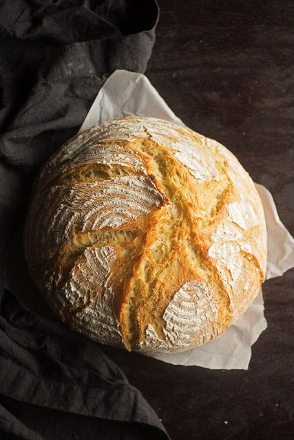 easy-crusty-french-bread, romantic dinner recipes