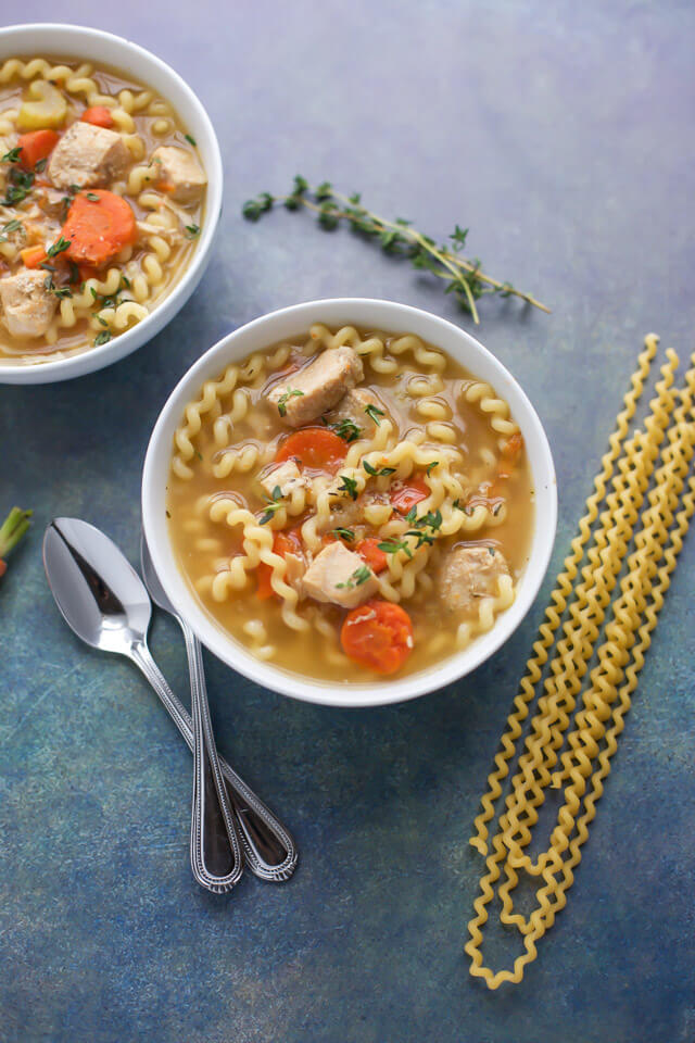 easy instant pot chicken soup