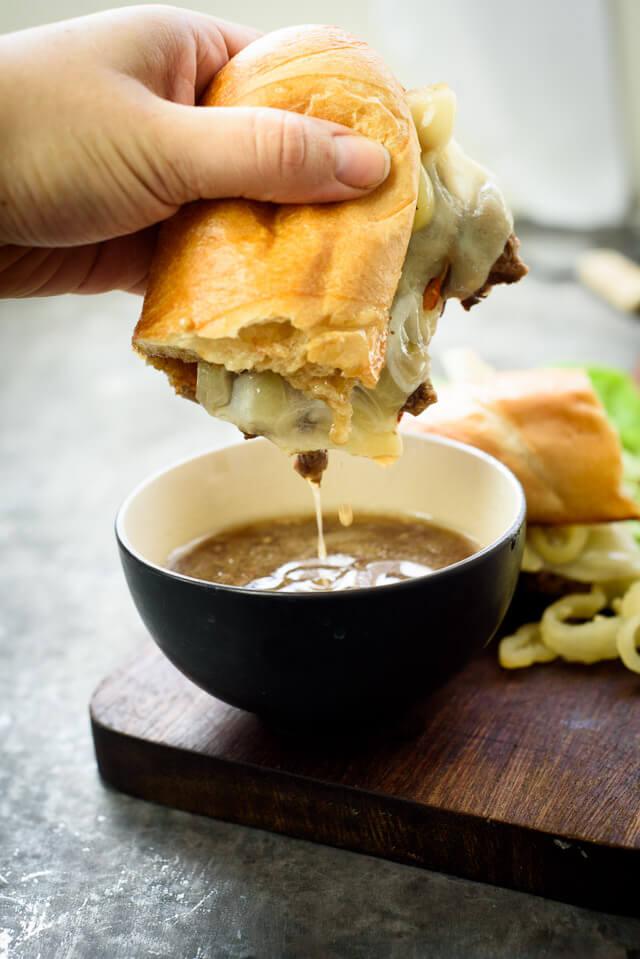 french-dip-crock-pot