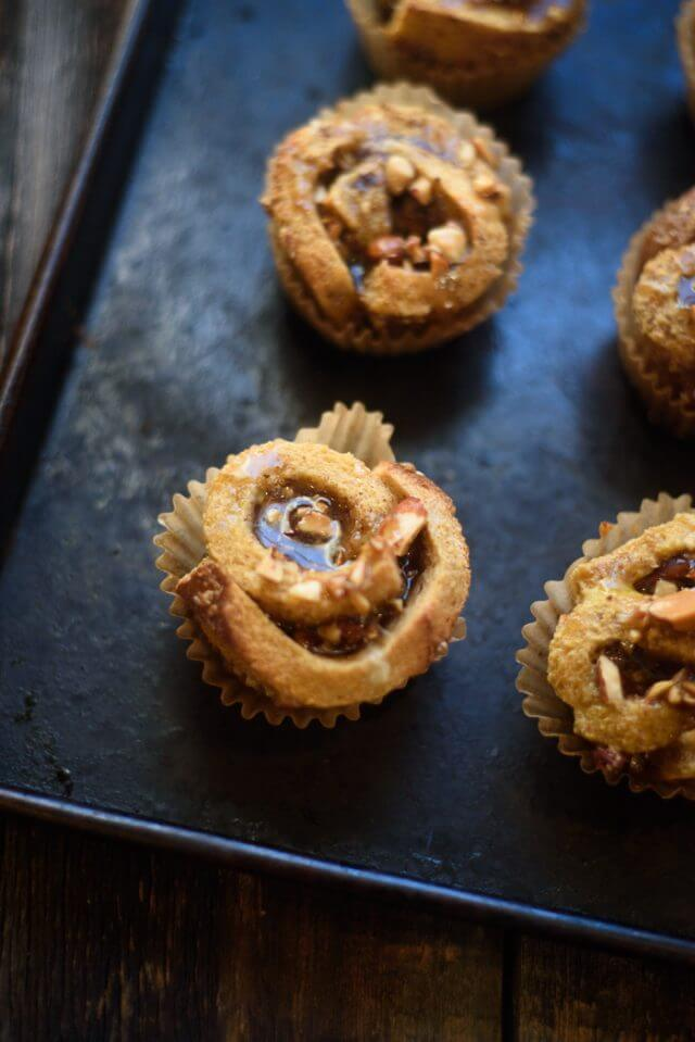 French Toast Cinnamon Roll Cups