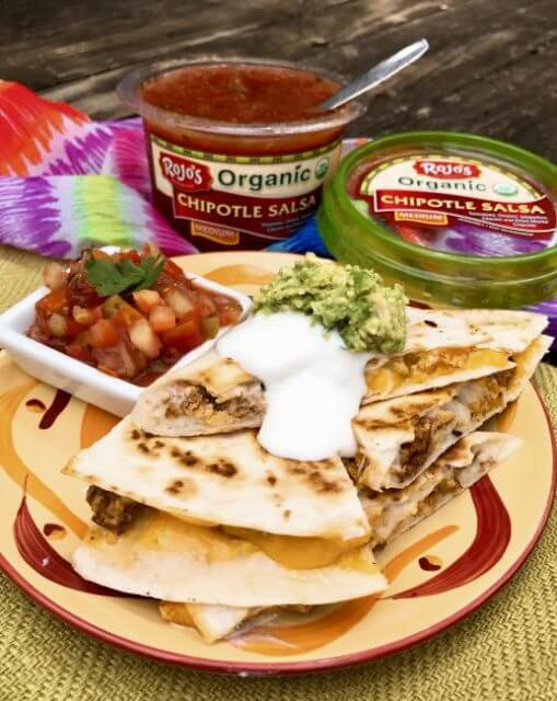 Camping Breakfast Quesadillas, 101 stress free camping food