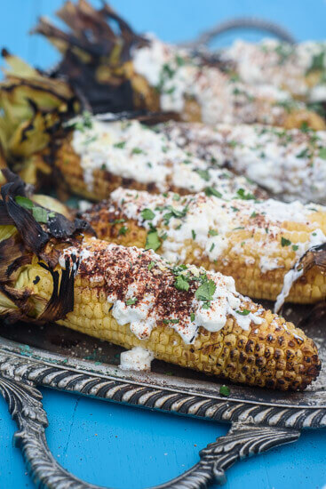 Healthy Mexican Corn, 101 Stress Free Camping Food Ideas