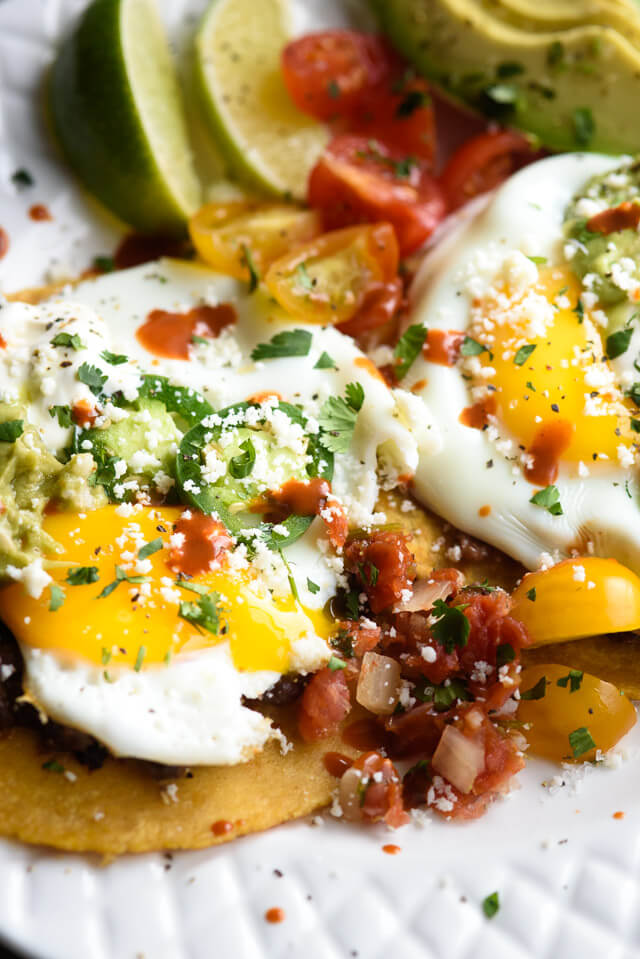 Huevos ranchero tacos