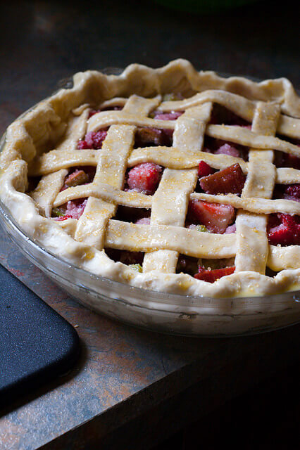 how to make a lattice pie crust, 12 holiday pies