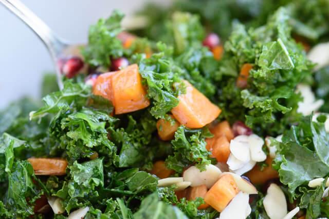 kale-persimmon-salad