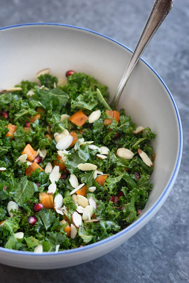 kale-pomegranate-salad