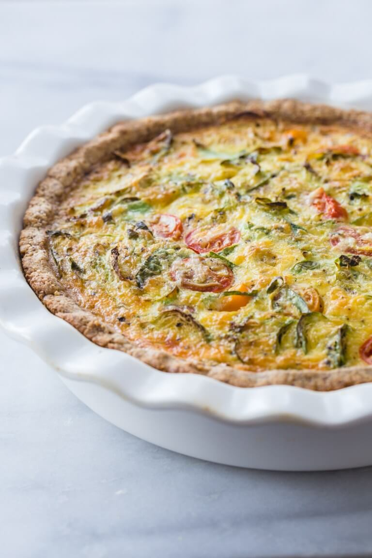 sunflower seed keto quiche crust