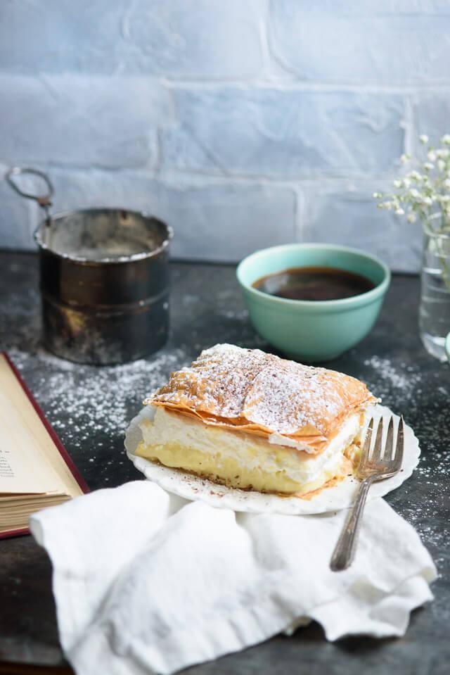 Slovenian cream cake recipe lake bled cake forumfinder Choice Image