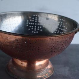 large-copper-colander