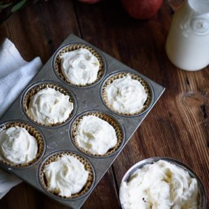 Mom's Maple Applesauce Cupcakes