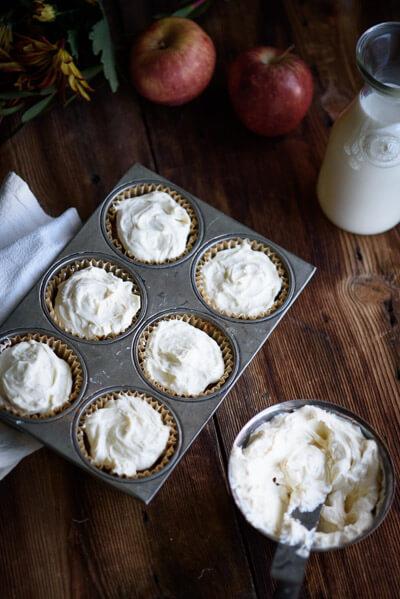 mapple-applesauce-cupcakes