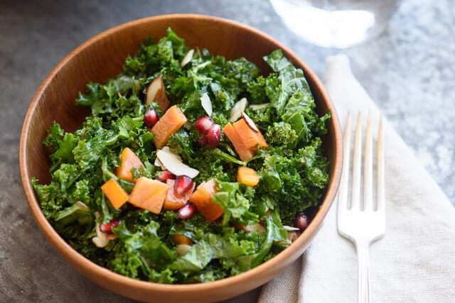 massaged-kale-persimmon-salad
