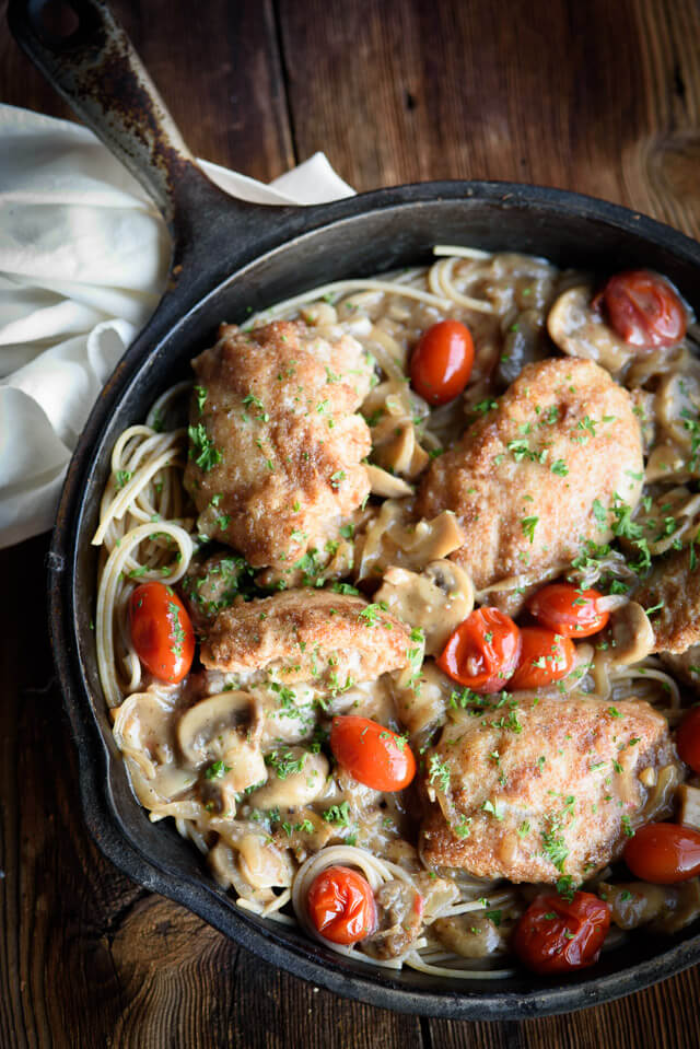 one-pan-stuffed-chicken-marsala