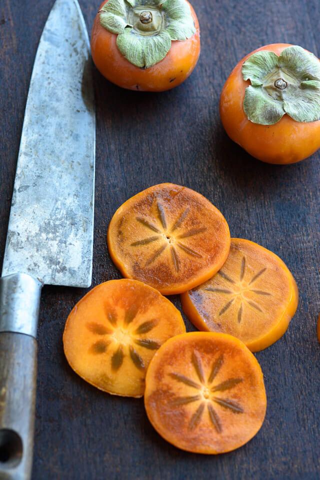 persimmon-salad