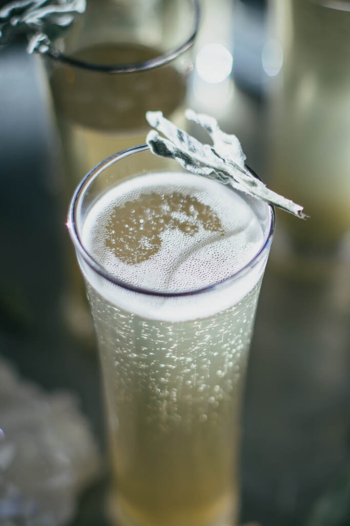 sage ginger prosecco cocktail recipe