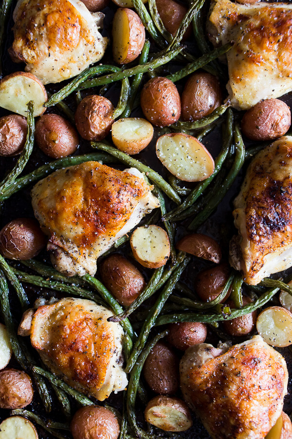 Sheet Pan Chicken and Potato