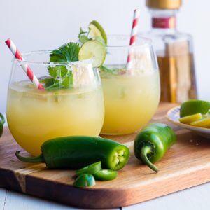 Pineapple Cilantro Jalapeno Margarita
