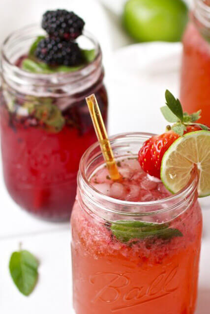strawberry-majito