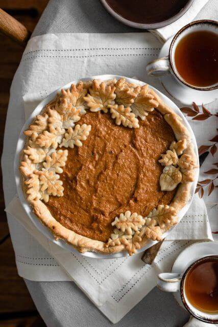 sweet potato pie, 12 HOLIDAY PIES YOU'VE GOTTA MAKE THIS YEAR