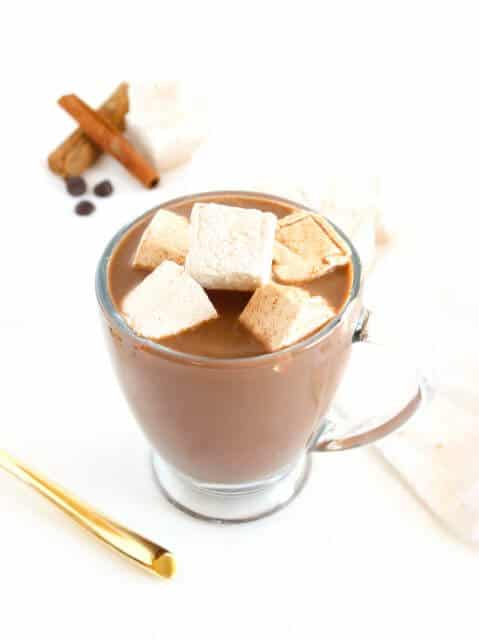 Tequila Spiked Mexican Hot Chocolate, 15 COCKTAILS TO KEEP YOU WARM THIS WINTER