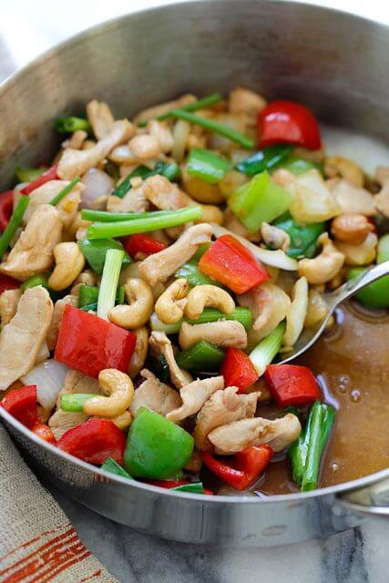 Thai Cashew Chicken, Stir up Your Week with These 25 Amazing Stir Fry Recipes