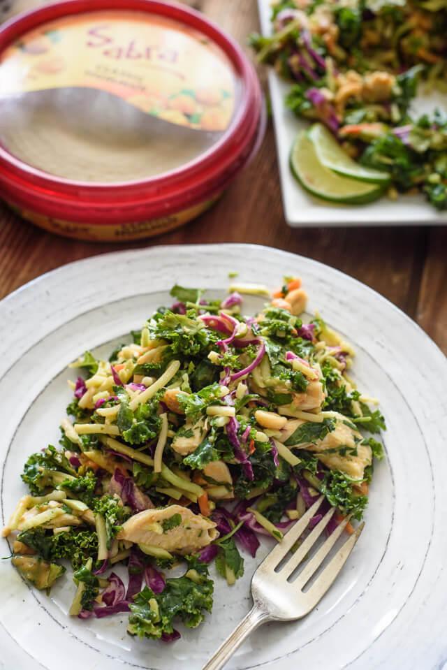 thai salad plate