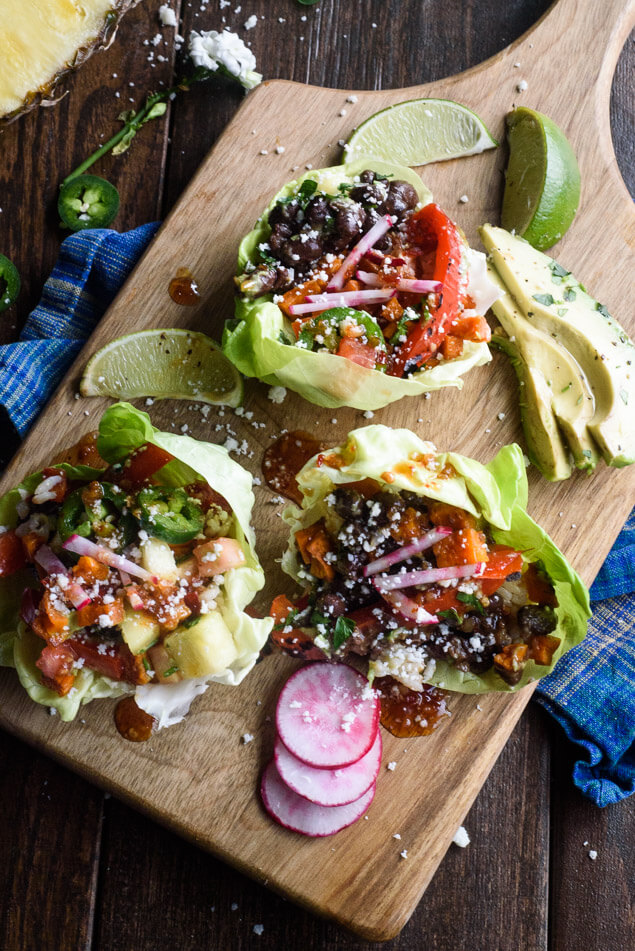 The best vegetarian lettuce wraps recipe the adventure bite for What do you call a vegetarian that eats fish
