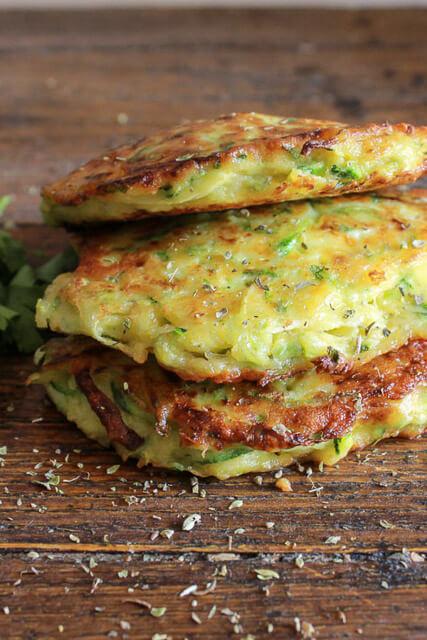 zucchini-patties